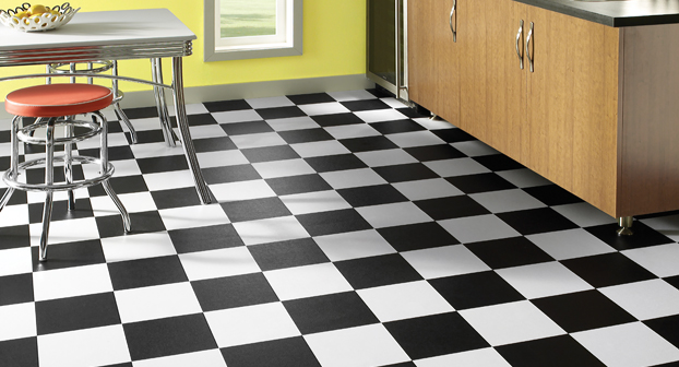 Black Flooring And White Are Beautiful Design Options For Your Home When They Used Separately However A Floor Uses Vinyl