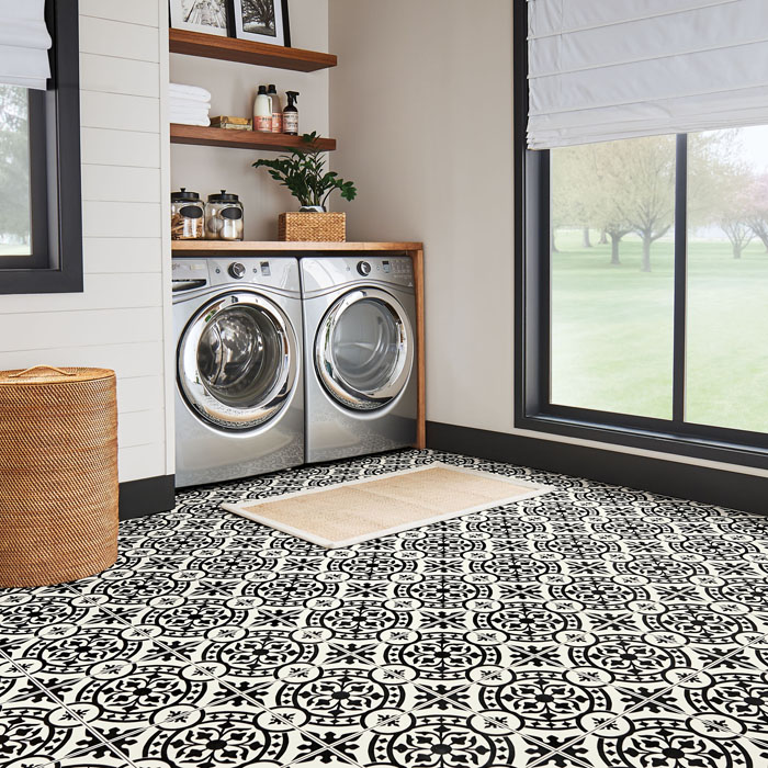 sheet vinyl resilient flooring