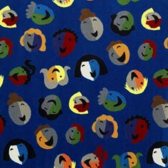 Joyful Faces - Blue From Joy Carpets