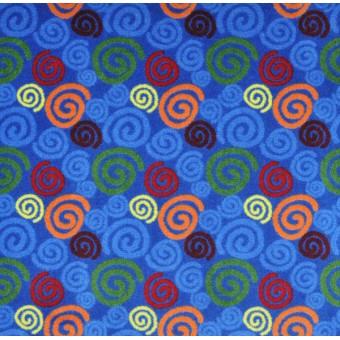 Spirals - Multi From Joy Carpets