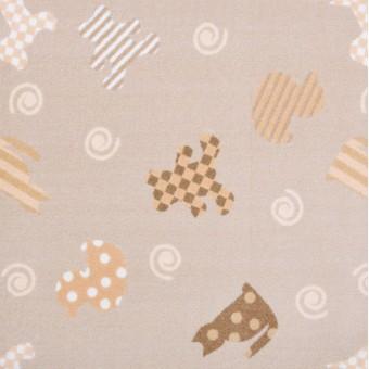 Frisky Friends - Beige From Joy Carpets