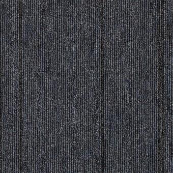 Rule Breaker Stripe Tile - Cobalt (In-Stock Special) From Mohawk Carpet