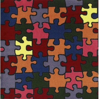 Puzzled - Multi From Joy Carpets