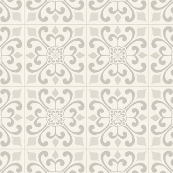 Cushionstep Better - Amador Medallion - Blanche From Armstrong Vinyl