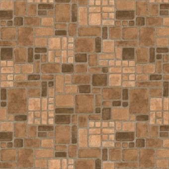 Cushionstep Better - Heritage Brick - Camel From Armstrong Vinyl