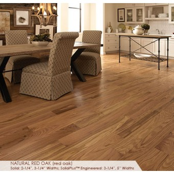 Classic 2.25 - Natural Red Oak From Somerset Hardwood