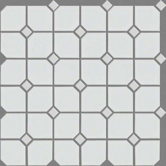 Elegance 2X2 W/D - White From Shaw Floor Tiles