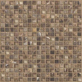 Mixed Up 5/8 Mosaic Marble - Dakota From Shaw Floor Tiles