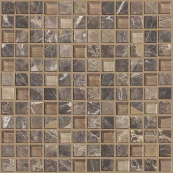 Mixed Up 1x1 Mosaic Marble - Dakota From Shaw Floor Tiles