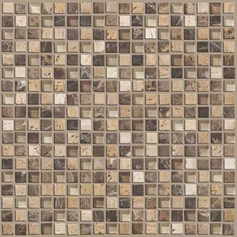 Mixed Up 5/8 Mosaic Stone - River Bed From Shaw Floor Tiles