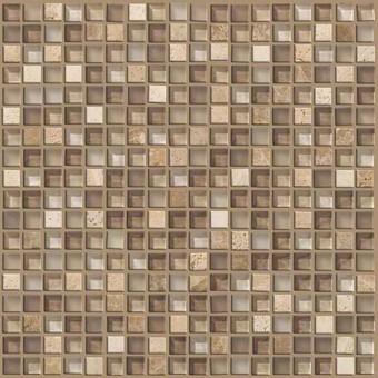 Mixed Up 5/8 Mosaic Stone - Canyon From Shaw Floor Tiles