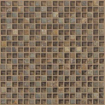 Mixed Up 5/8 Mosaic Slate - Piedmont From Shaw Floor Tiles
