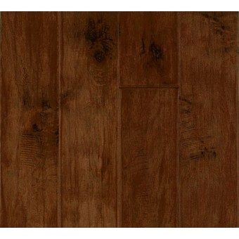 Rural Living - Hand Scraped - Maple - Burnt Cinnamon From Armstrong Hardwood