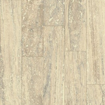 CushionStep Premium - Mineral Travertine - Almond Cream From Armstrong Vinyl