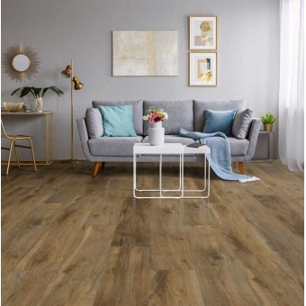 FloorTEC Plus - 5mm with Pad - Charleston Oak From Showcase Collection