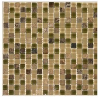 Stone Medley - Beige & Green From Zumpano