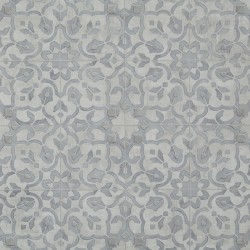 Luxury Vinyl Sheet Silver-Filigree