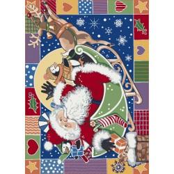 Patchwork Santa
