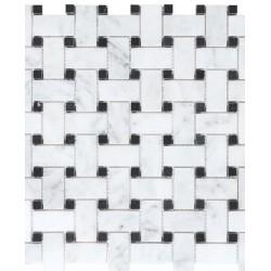 Basketweave Mosaic Honed
