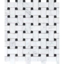 Basketweave Mosaic Polished