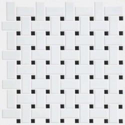 Elegance Basketweave Mosaic