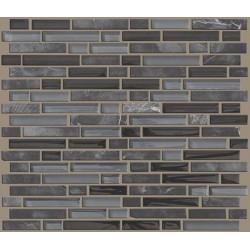 Mixed Up Random Linear Mosaic Stone