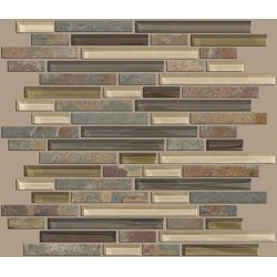 Mixed Up Random Linear Mosaic Slate