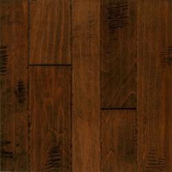 Artesian Hand-Tooled Hand-Scraped Random Width Plank - Birch