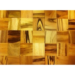 Brazilian Tigerwood Squares - Engineered
