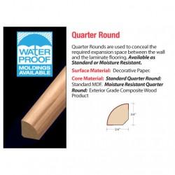 "94"" Quarter Round"